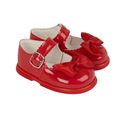 Baypods H505 in red patent - Early Days Baby and Toddler Shoes for Boys and Girls
