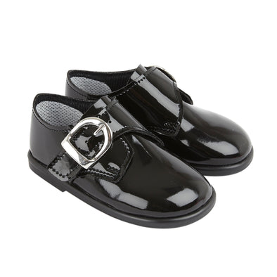 Baypods H656 in black patent - Early Days