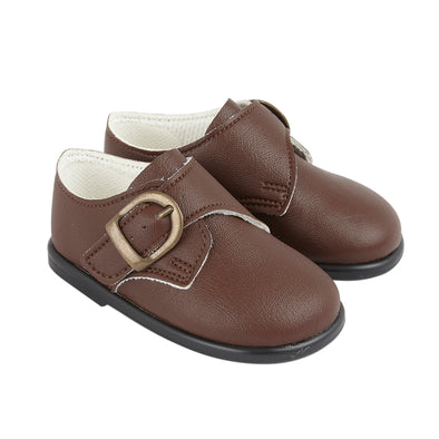 Baypods H656 in brown - Early Days Baby and Toddler Shoes for Boys and Girls