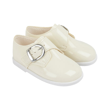 Baypods H656 in ivory - Early Days Baby and Toddler Shoes for Boys and Girls