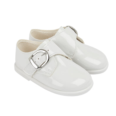 Baypods H656 in white patent - Early Days Baby and Toddler Shoes for Boys and Girls