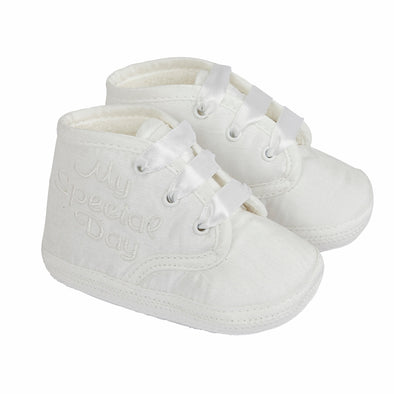 Early Days HARPER in white - Early Days Baby and Toddler Shoes for Boys and Girls