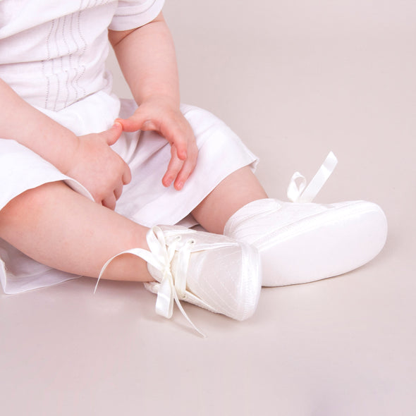 Early Days LUCAS in ivory - Early Days Baby and Toddler Shoes for Boys and Girls