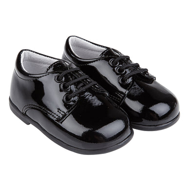 Early Days Jack in black patent - Early Days Baby and Toddler Shoes for Boys and Girls