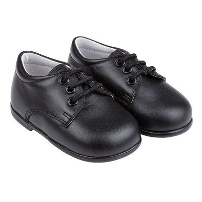 Early Days Jack in black - Early Days Baby and Toddler Shoes for Boys and Girls