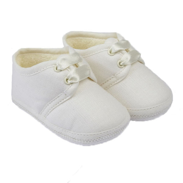 Early Days NOAH in ivory - Early Days Baby and Toddler Shoes for Boys and Girls