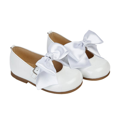 Early Days PIPPA in white patent - Early Days Baby and Toddler Shoes for Boys and Girls