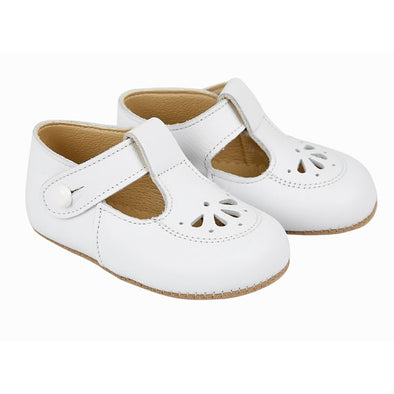 Early Days ROBIN in white - Early Days Baby and Toddler Shoes for Boys and Girls