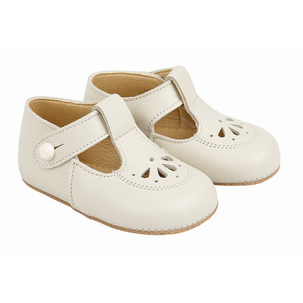 Early Days ROBIN in ivory - Early Days Baby and Toddler Shoes for Boys and Girls
