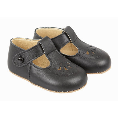 Early Days ROBIN in black - Early Days Baby and Toddler Shoes for Boys and Girls