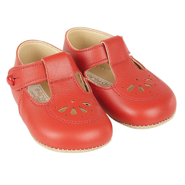 Early Days ROBIN in Red - Early Days Baby and Toddler Shoes for Boys and Girls