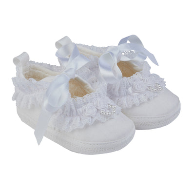 Early Days SARA in white - Early Days Baby and Toddler Shoes for Boys and Girls