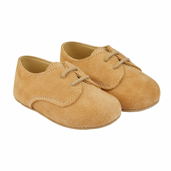 Early Days THOMAS in sand suede - Early Days Baby and Toddler Shoes for Boys and Girls