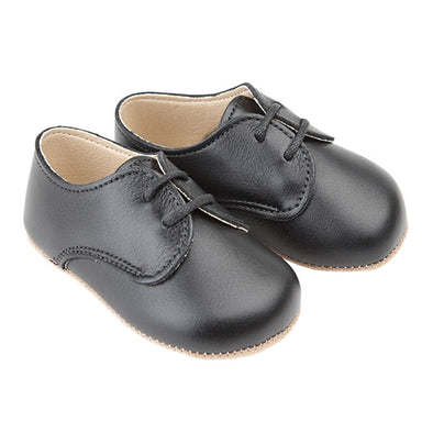 Early Days THOMAS in black - Early Days Baby and Toddler Shoes for Boys and Girls