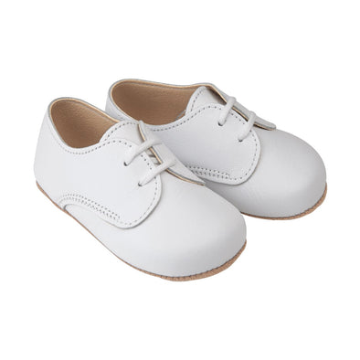 Early Days THOMAS in white - Early Days Baby and Toddler Shoes for Boys and Girls