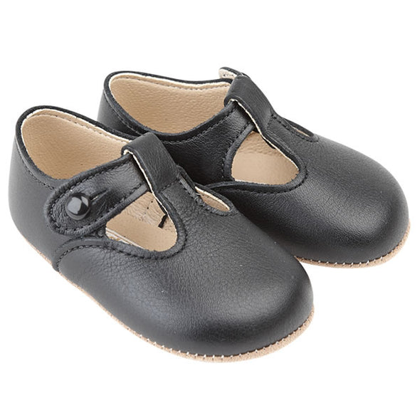 Early Days ALEX in black - Early Days Baby and Toddler Shoes for Boys and Girls