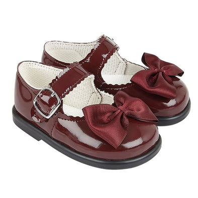 Baypods H505 in burgundy patent - Early Days Baby and Toddler Shoes for Boys and Girls