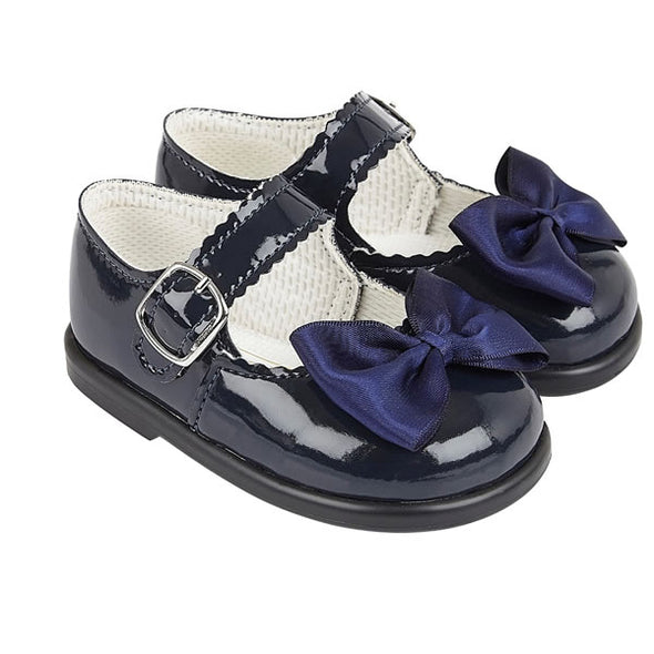 Baypods H505 in navy patent - Early Days Baby and Toddler Shoes for Boys and Girls
