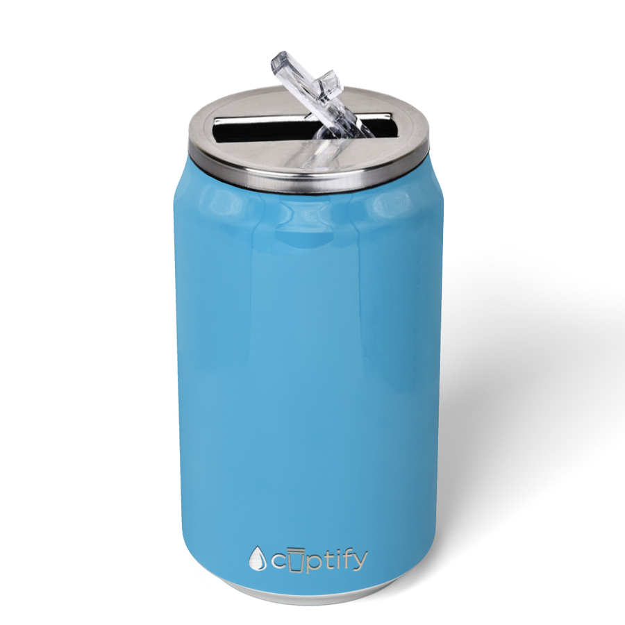 Cuptify 12 oz Cola Can Bottle - Baby Blue