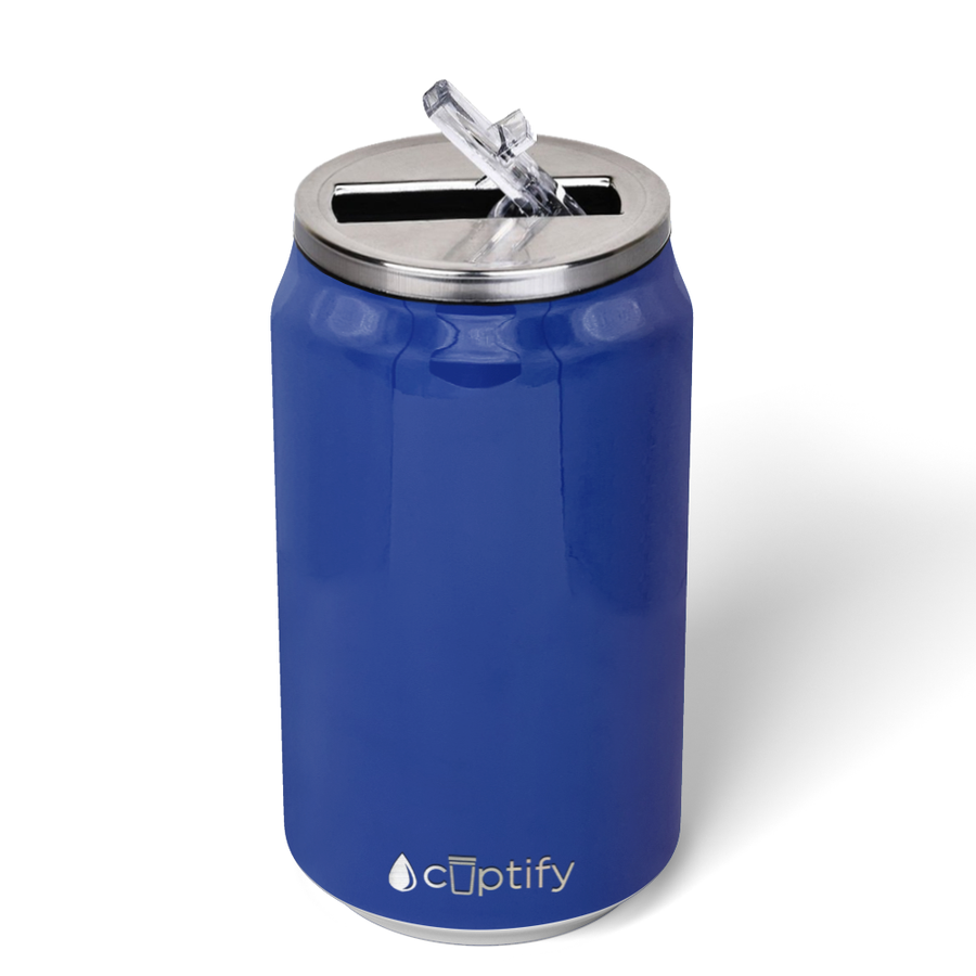 Cuptify 12 oz Cola Can Bottle - Blue Gloss