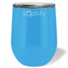 Cuptify 12 oz Stemless Wine Tumbler - Baby Blue
