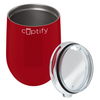 Cuptify 12 oz Stemless Wine Tumbler - Blood Red Gloss