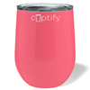 Cuptify 12 oz Stemless Wine Tumbler - Guava Gloss