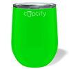 Cuptify 12 oz Stemless Wine Tumbler - Neon Green