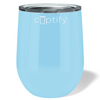 Cuptify 12 oz Stemless Wine Tumbler - Pastel Blue