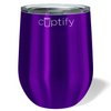 Cuptify 12 oz Stemless Wine Tumbler - Purple Translucent