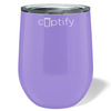 Cuptify 12 oz Stemless Wine Tumbler - Lavender Gloss