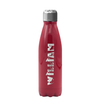 Cuptify Kids Personalized Laser Engraved on Aqua 17 oz Cola Bottle