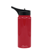 Cuptify 18 oz Stainless Steel Bottle - Blood Red Gloss