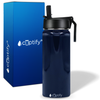 Cuptify 18 oz Stainless Steel Bottle - Navy Blue