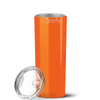 Cuptify 20 oz Skinny Tumbler - Bright Orange