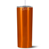Cuptify 20 oz Skinny Tumbler - Orange Translucent