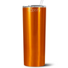 Cuptify 30 oz Skinny Tumbler - Orange Translucent