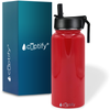 Cuptify 32 oz Stainless Steel Bottle - Red Gloss