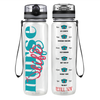 Nurse Life 32 oz Motivational Tracking Water Bottle