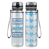 Destination Happiness 32 oz Motivational Tracking Water Bottle