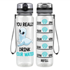 Seal Water 32 oz Motivational Tracking Water Bottle