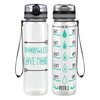 Love More Arrows 32 oz Motivational Tracking Water Bottle