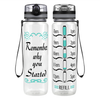Why You Started 32 oz Motivational Tracking Water Bottle