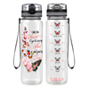Into the Forest Butterfly 32 oz Motivational Tracking Water Bottle
