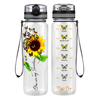 My Butterfly Sunshine 32 oz Motivational Tracking Water Bottle
