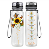 Butterfly Hope 32 oz Motivational Tracking Water Bottle