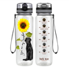 Labrador Retriever You are my Sunshine 32 oz Motivational Tracking Water Bottle