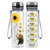 You are my Sunshine 32 oz Motivational Tracking Water Bottle
