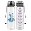She has the Soul of a Gypsy 32 oz Motivational Tracking Water Bottle