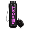 Cuptify Black Pink 32 oz Sport Water Bottle